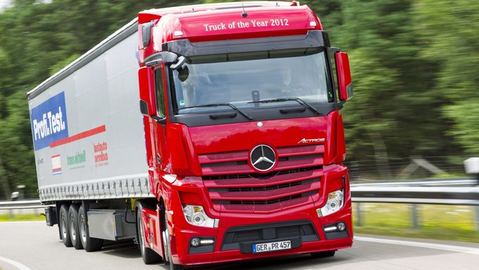 Actros 1845 Big Space