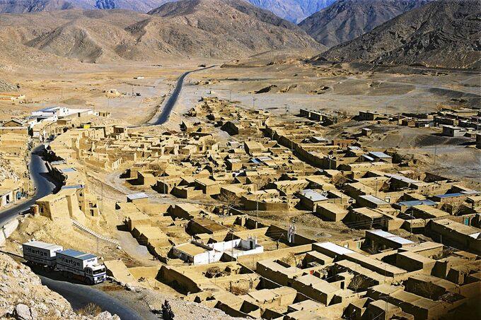Asiatisches Dorf, Aufmacherfoto