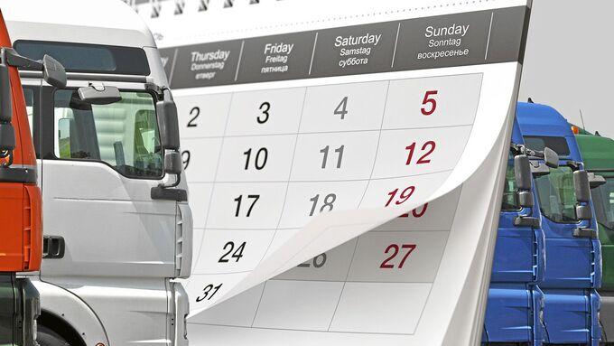 Calendar - Render 3D