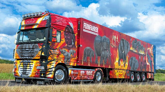 DAF – Der Afrikanische Elefant, Elefantenrennen