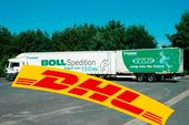 DHL, Boll, Spedition, Lang-Lkw