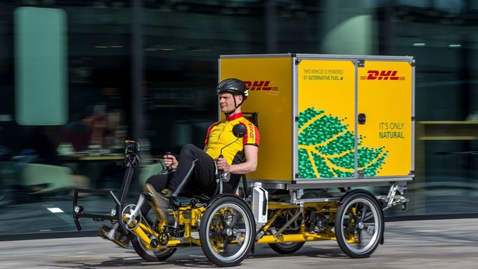 DHL Cubicycle