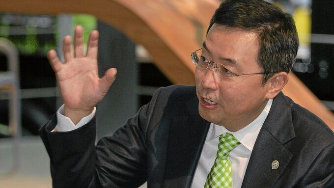 David Li, Konzernchef CIMC