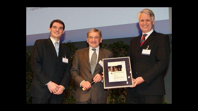 Der Logistics Service Award 2010 geht an Bauserve