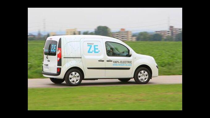 Elektrotransporter im Kommen: Kangoo Rapid Z.E.