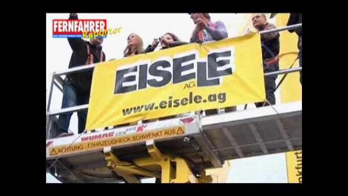 FERNFAHRER-Reporter: Mit Eisele in luftige Höhen