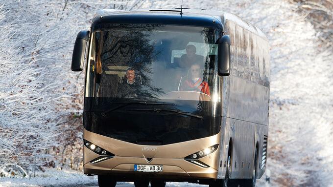 Fahrbericht, Test, Testfahrt, Viseon C 13, Bus, Reisebus