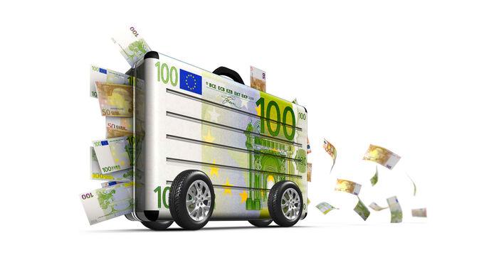 Fahrzeugbeschaffung, Geldkoffer