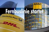 Fernbuslinie, ADAC; Deutsche Post