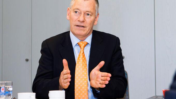 Ford-Nutzfahrzeugechef Bernhard Schmitz