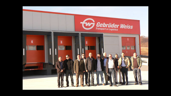 Gebrüder Weiss eröffnen Terminal in Rumänien BR BR