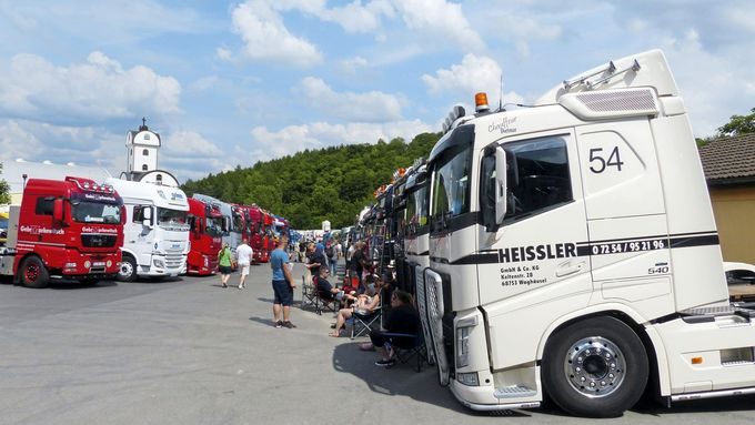 Geiselwind 2017, Festival, FF 8/2017, Supertrucks, Trucker- Country.