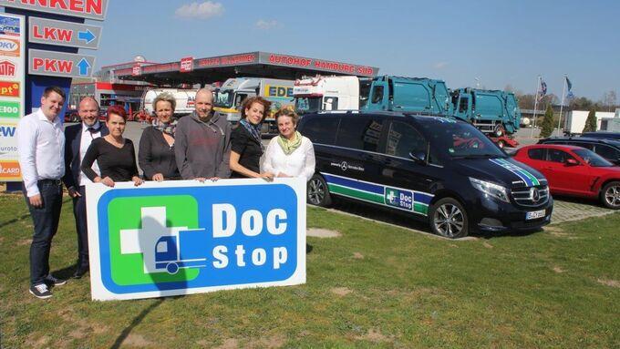 Hoyer, Autohof, DocStop
