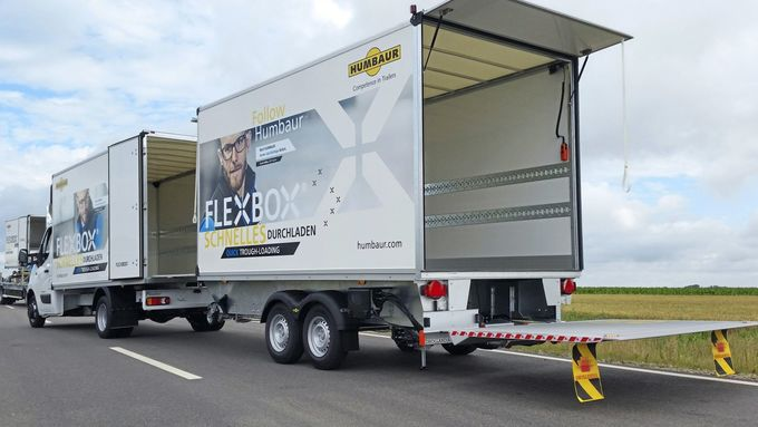 Humbaur Flexbox Renault Master