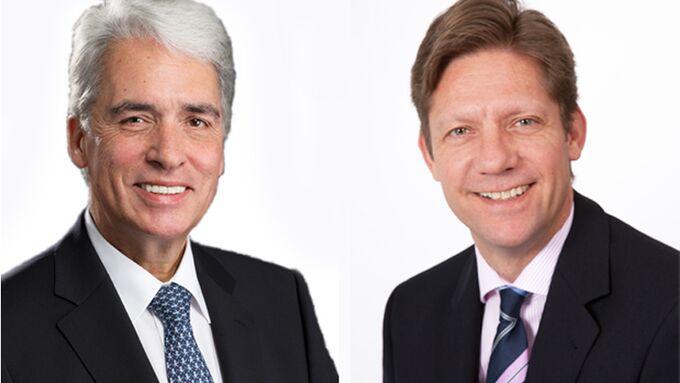 Imperial Logistics, Gerhard Riemann (68) links, Carsten Taucke (49) rechts.