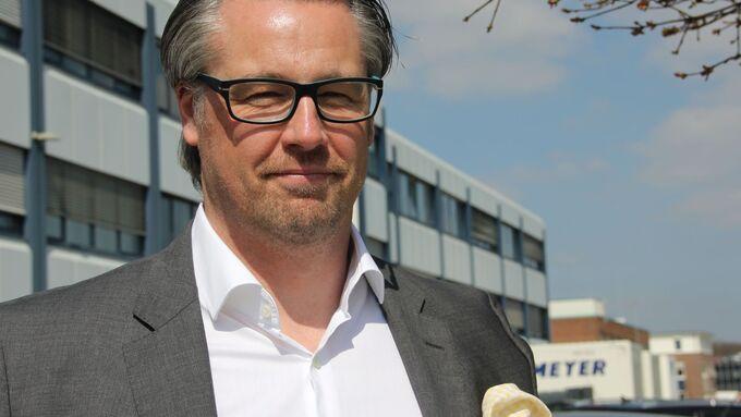 Jan Weber Geschäftsführer Meyer Meyer Textillogistik Osnabrück