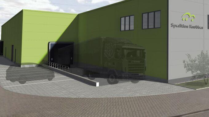 Knubben Spedition Mannheim Jonastone Logistikzentrum