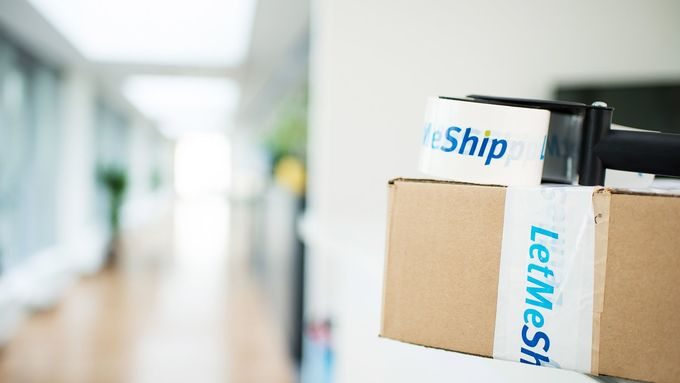 Letmeship, Versandportal, Paket
