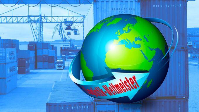 Logistik, Weltkugel, Weltmeister