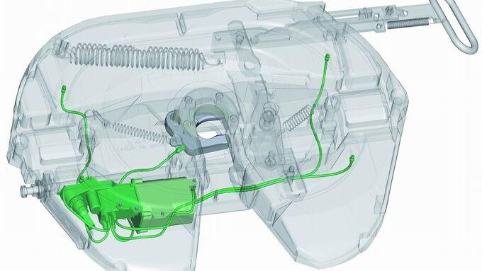 Lube-Tronic von Jost: Eine elektronische Steuerung teilt die zur Schmierung notwendige Fettmenge aus einer Patrone zu.