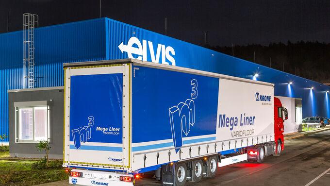 Megatrailer von Krone