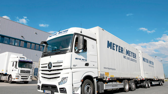 Meyer und Meyer, Mercedes, Lang Lkw