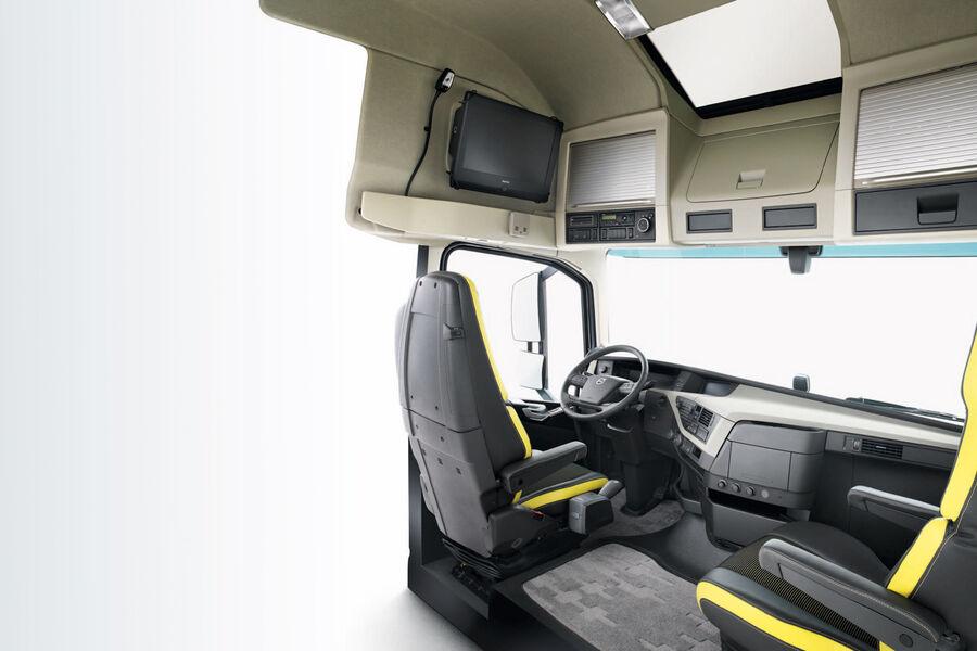 neuer volvo fh kabine traumhaus eurotransport. Black Bedroom Furniture Sets. Home Design Ideas