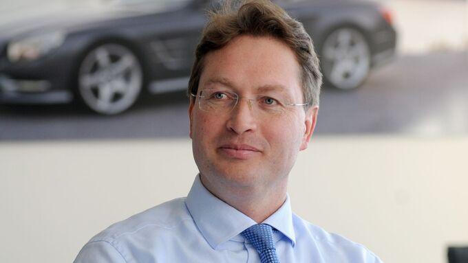Ola Källenius, Daimler