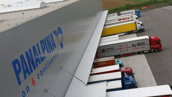 Panalpina, Logistikzentrum