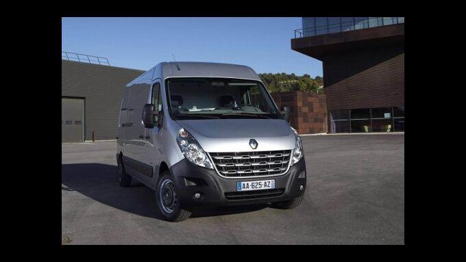Renault Master: Angebot für Gewerbekunden