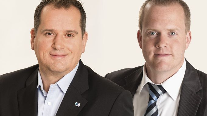 STI, Björn Heinermann und Drazan Malesevic
