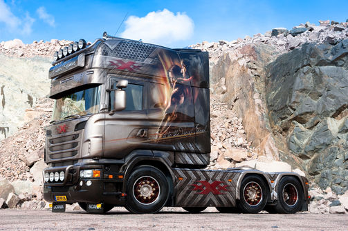 Scania Longline Michel Kramer, xXx, Supertruck