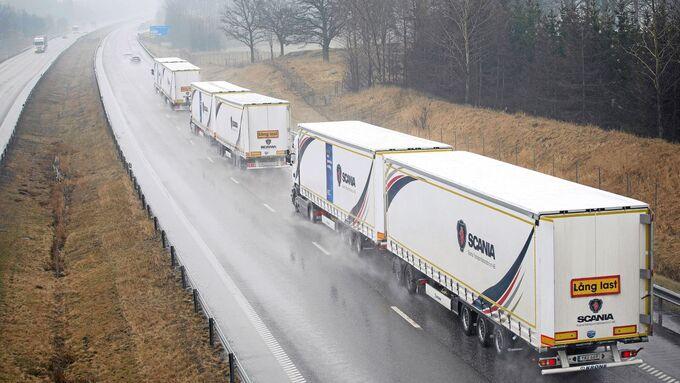 Scania Platooning