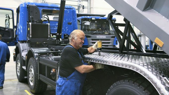 Scania, Produktion, Montage