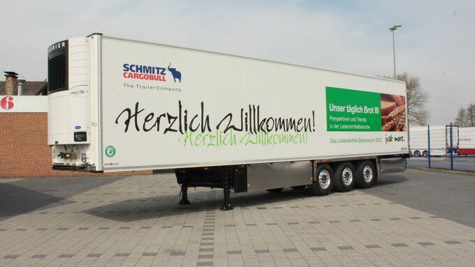 Schmitz Cargobull Trailer Unser täglich Brot