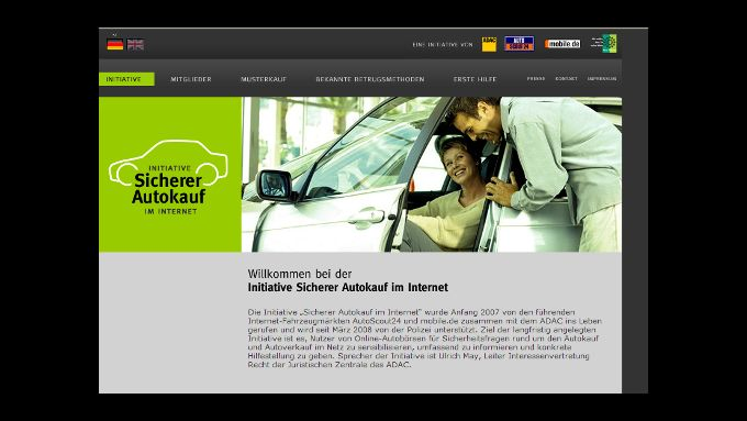 Schutz gegen Betrüger beim Autokauf
