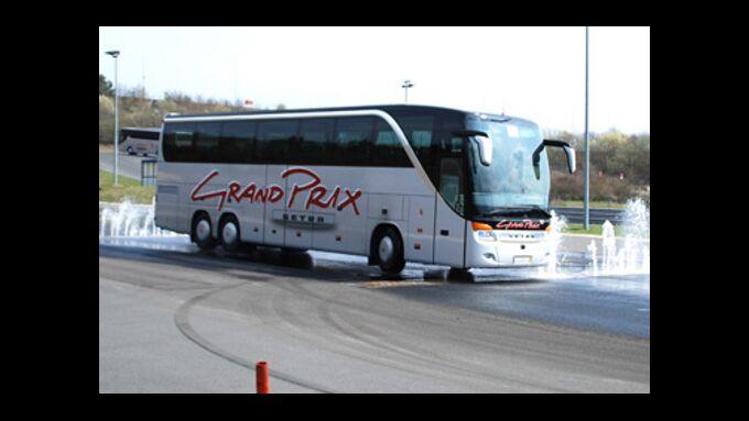 Setra Grand Prix auf dem Nürburgring