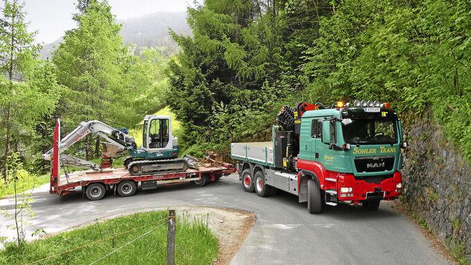 Sohler Trans Spezialfahrzeug Lkw MAN TGS 28.540