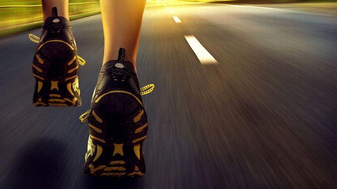 Start, Lauf, Schuhe, Läufer