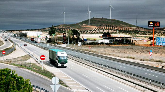 Traumroute Madrid-Algeciras