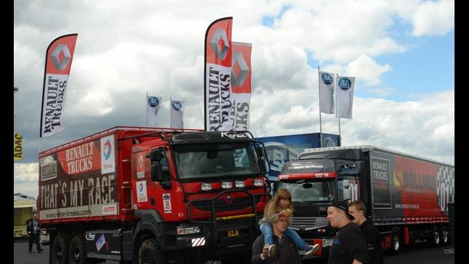 Truck-Grand-Prix, Truck Race, Lkw, Rallye Breslau, Kerax