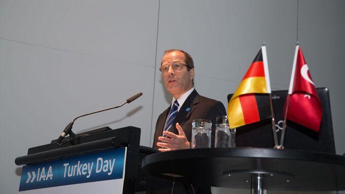 Türkei-Tag, IAA 2012, VDA-Geschäftsführer Klaus Bräunig