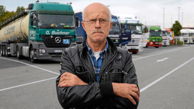 Vom Fern- zum Busfahrer, Siegfried Schleiner