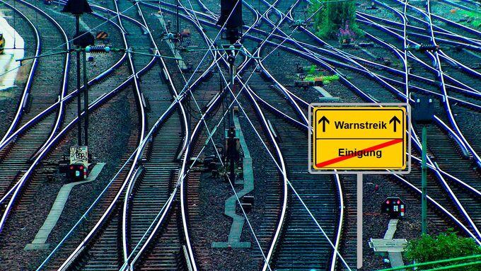 Warnstreik, Deutsche Post DHL, Verdi, Schienen, Einigung