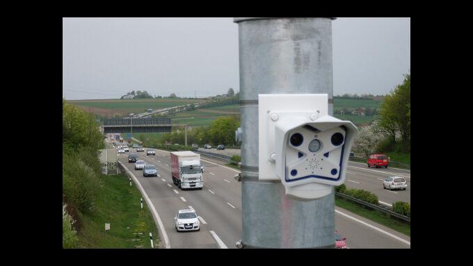 Webcams im Einsatz gegen den Stau