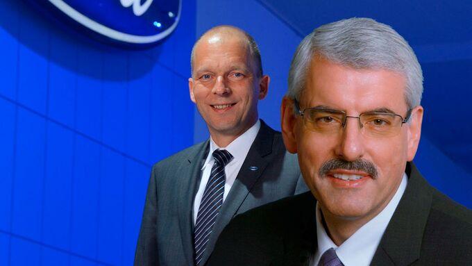 Werner Pütz, Jörg Beyer, Ford-Werke