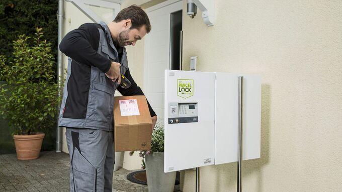 Zugangsstandard für Paketboxen soll Lieferdiensten Arbeit erleichtern