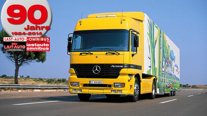 90 Jahre lastauto omnibus, Mercedes, Actros 1