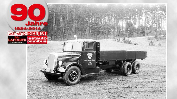 90 Jahre lastauto omnibus, Scania, Hesselmannmotor