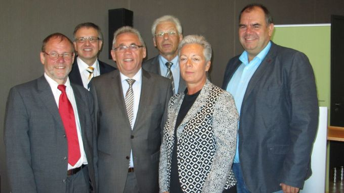 AMÖ, Präsidium, Gert Hebert, Ekkehard Bartel, Frank Schäfer, Johannes Röhr und Sabine Hartmann, Stefan Klein